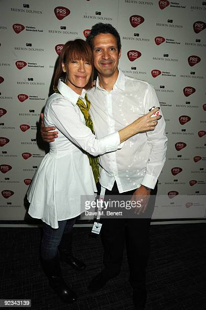 Kiki Dee and Mike Lindup attend the after party for Helping The Heart of Music Concert in aid of the PRS members benevolent fund on October 25 2009...