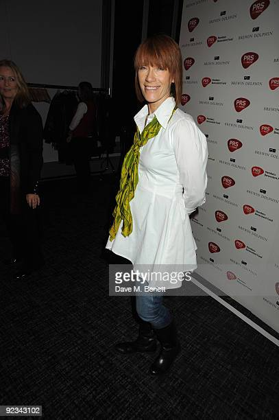 Kiki Dee attends the after party for Helping The Heart of Music Concert in aid of the PRS members benevolent fund on October 25 2009 in London England