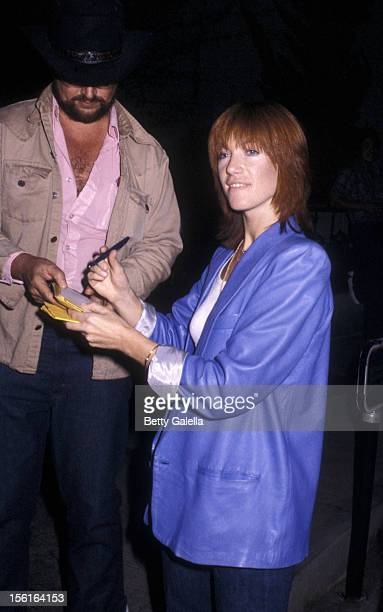 Kiki Dee attends the party for Elton John Concert on September 26 1979 at Victoria Station in Los Angeles California