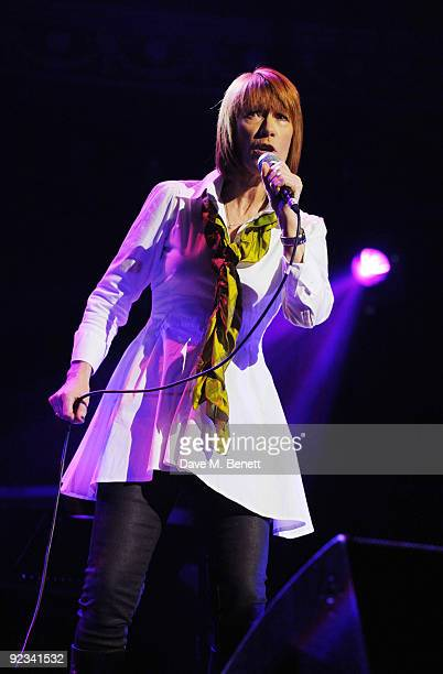 Kiki Dee performs during the Helping The Heart of Music Concert in aid of the PRS members benevolent fund starring the 'Faces' supported by the...