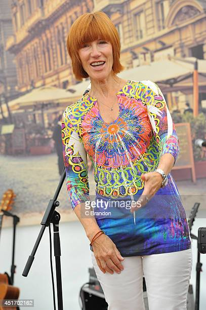 Kiki Dee performs on stage at the Cornbury Music Festival at Great Tew Estate on July 4 2014 in Oxford United Kingdom