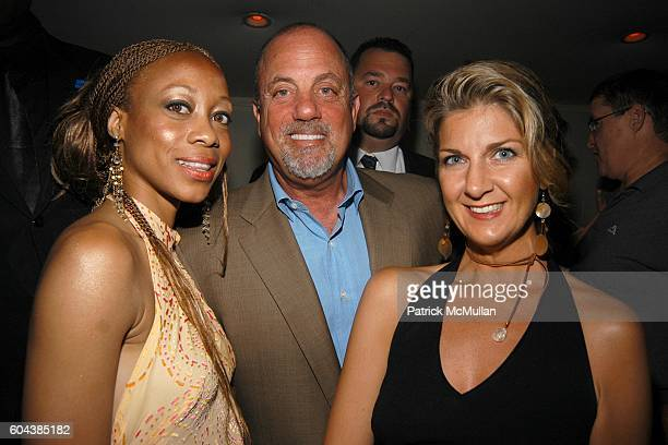 Kiki Kamanu Billy Joel and Beth Swanstrom attend Hamptons Magazine Hosts a New Issue Party With Cover Star Katie Lee Joel and her Husband Billy Joel...