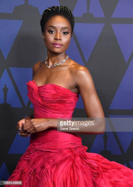 Kiki Layne arrives at the Academy Of Motion Picture Arts And Sciences' 10th Annual Governors Awards at The Ray Dolby Ballroom at Hollywood Highland...
