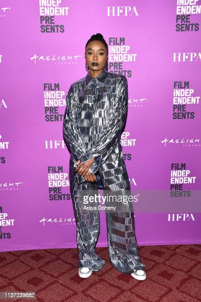 """KiKi Layne at Film Independent Presents HBO Screening Series - """"Native Son"""" at ArcLight Hollywood on March 20, 2019 in Hollywood, California."""
