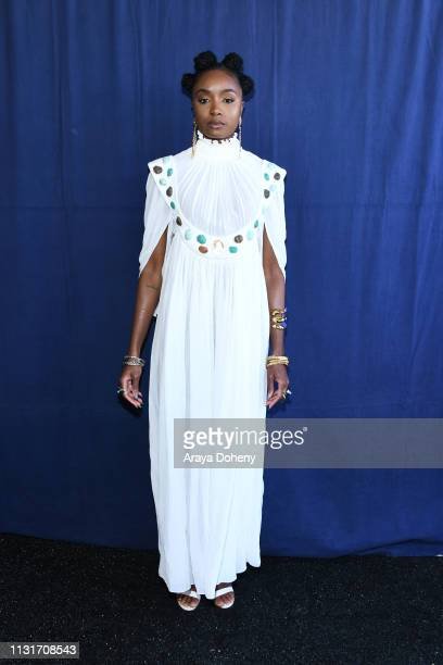 KiKi Layne at the 2019 Film Independent Spirit Awards on February 23, 2019 in Santa Monica, California.