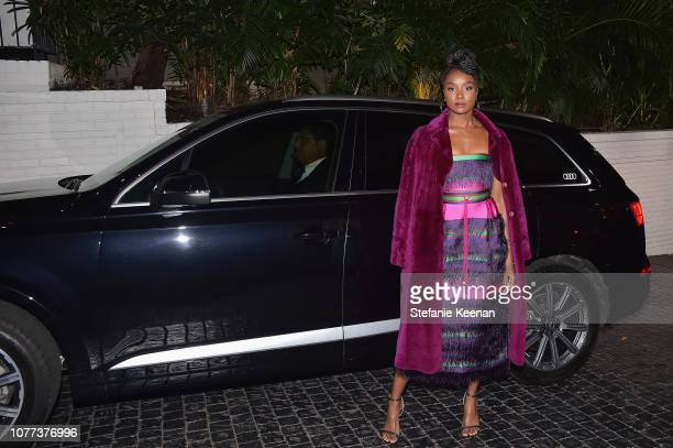 Kiki Layne attends Audi Arrivals at W Magazine's Best Performances Party at Chateau Marmont on January 4, 2019 in Los Angeles, California.