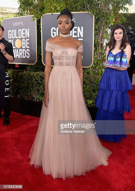 Kiki Layne attends FIJI Water at the 76th Annual Golden Globe Awards on January 6, 2019 at the Beverly Hilton in Los Angeles, California.
