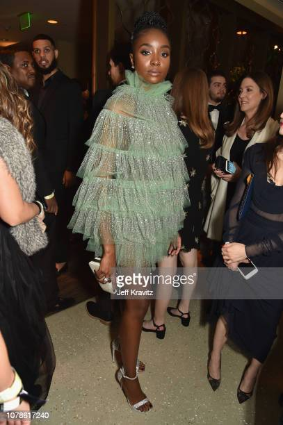 KiKi Layne attends HBO's Official 2019 Golden Globe Awards After Party on January 6, 2019 in Los Angeles, California.