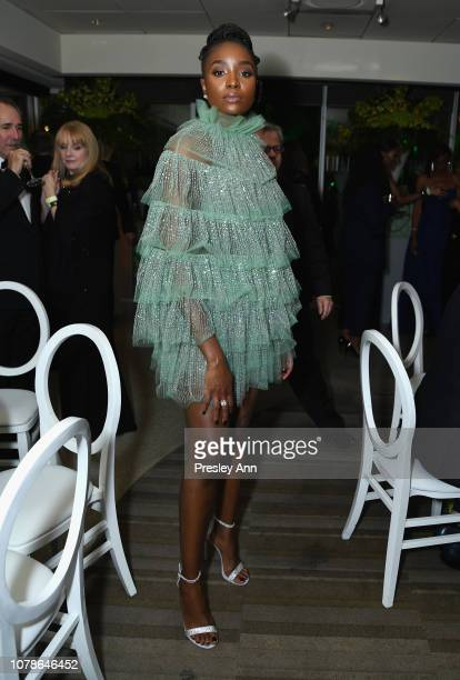 KiKi Layne attends HBO's Official Golden Globe Awards After Party at Circa 55 Restaurant on January 6, 2019 in Los Angeles, California.