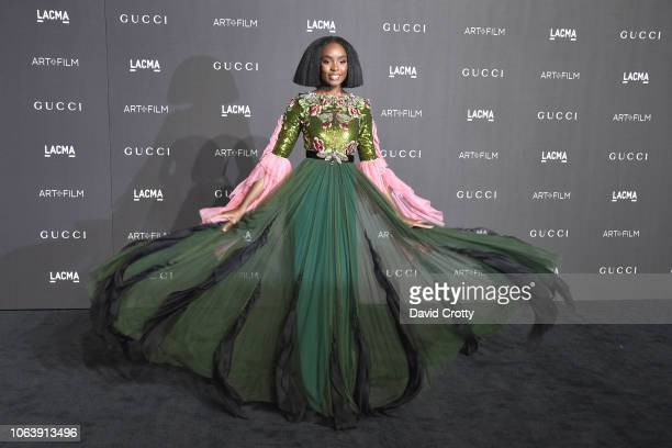KiKi Layne attends LACMA Art Film Gala 2018 at Los Angeles County Museum of Art on November 3 2018 in Los Angeles CA
