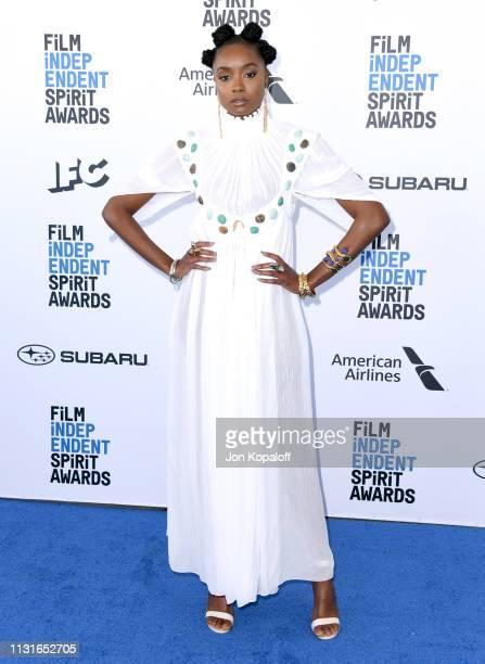 Kiki Layne attends the 2019 Film Independent Spirit Awards on February 23 2019 in Santa Monica California