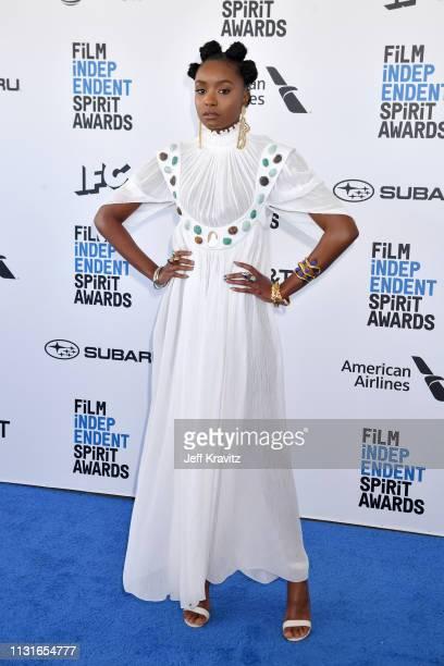 KiKi Layne attends the 2019 Film Independent Spirit Awards on February 23, 2019 in Santa Monica, California.