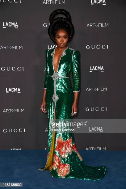 KiKi Layne attends the 2019 LACMA 2019 Art + Film Gala Presented By Gucci at LACMA on November 02, 2019 in Los Angeles, California.