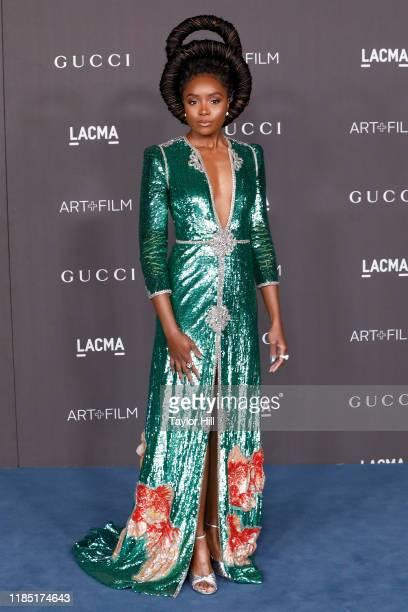 KiKi Layne attends the 2019 LACMA Art + Film Gala at LACMA on November 02, 2019 in Los Angeles, California.