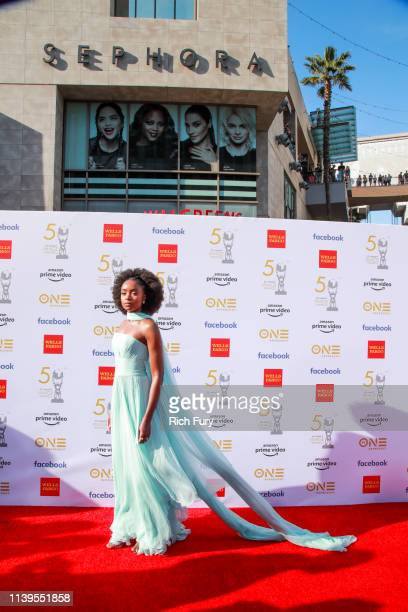 Kiki Layne attends the 50th NAACP Image Awards at Dolby Theatre on March 30 2019 in Hollywood California