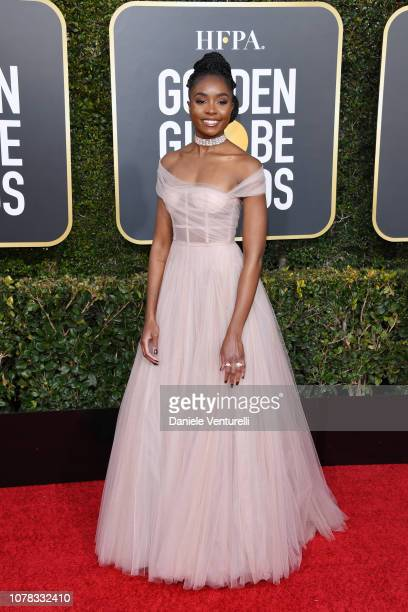 Kiki Layne attends the 76th Annual Golden Globe Awards at The Beverly Hilton Hotel on January 6 2019 in Beverly Hills California