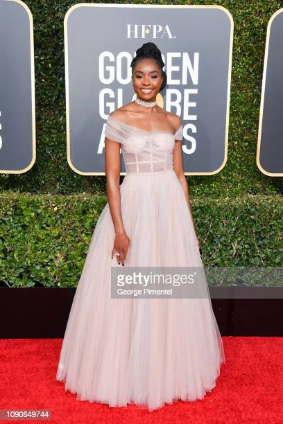 Kiki Layne attends the 76th Annual Golden Globe Awards held at The Beverly Hilton Hotel on January 06 2019 in Beverly Hills California