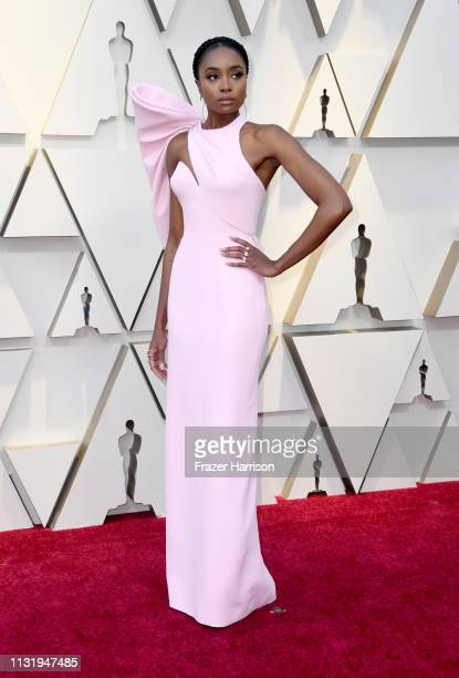 KiKi Layne attends the 91st Annual Academy Awards at Hollywood and Highland on February 24 2019 in Hollywood California