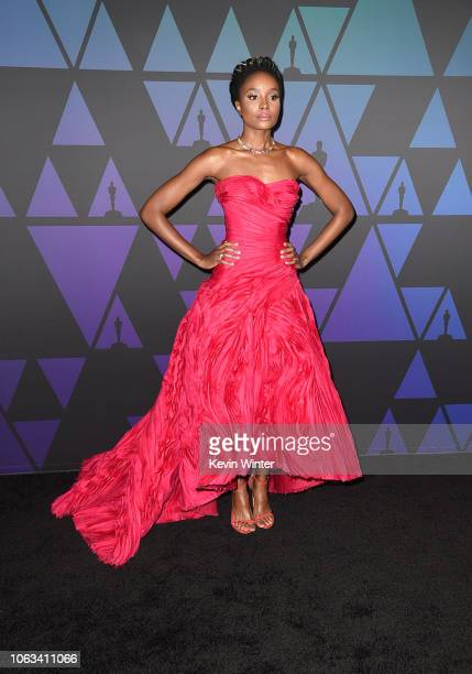 Kiki Layne attends the Academy of Motion Picture Arts and Sciences' 10th annual Governors Awards at The Ray Dolby Ballroom at Hollywood Highland...
