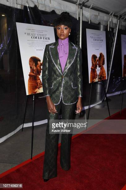 Kiki Layne attends the Los Angeles special screening of 'If Beale Street Could Talk' at ArcLight Hollywood on December 04, 2018 in Hollywood,...