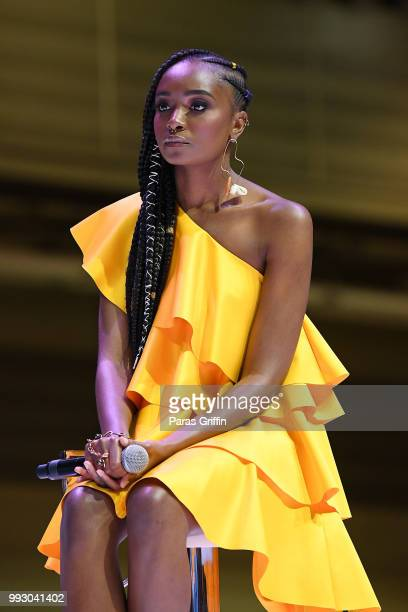 Kiki Layne speaks onstage during the 2018 Essence Festival presented by CocaCola at Ernest N Morial Convention Center on July 6 2018 in New Orleans...
