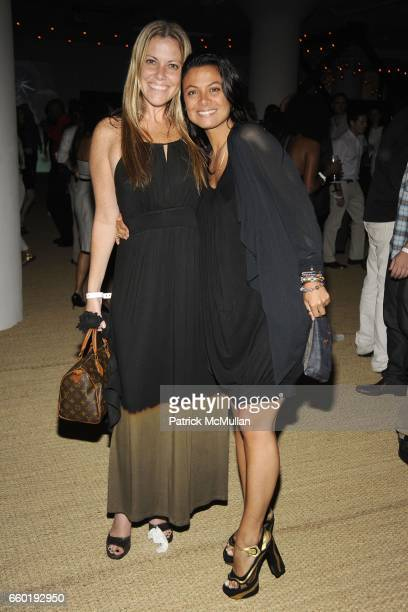 Kiki Nolan and Renata Merriam attend BOSS ORANGE New Direction Party at 601 West 26th street on July 23 2009 in New York City