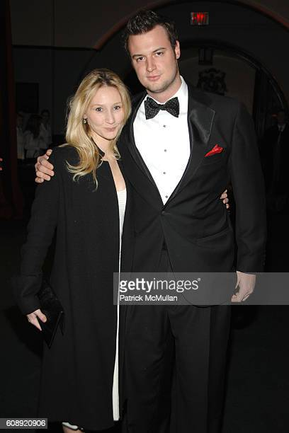 Kiki Przybylo and Austin Bryan attend CFDA/Vogue 7th ON SALE 2007 Gala at 69th Regiment Armory on November 15 2007 in New York City