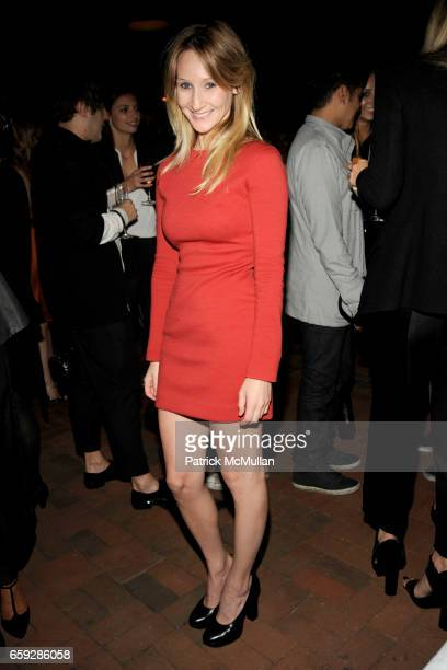 Kiki Przybylo attends CALVIN KLEIN COLLECTION Women's Spring 2010 AfterParty at The Standard on September 17 2009 in New York