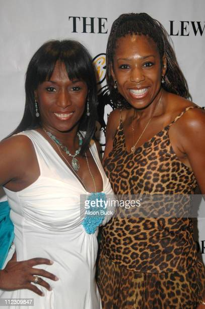 Kiki Shepard and Dawnn Lewis during KiKi Shepard's 4th Annual Celebrity Bowling Challenge'06 at PINZ Entertainment Center/Guy's North in Studio City...
