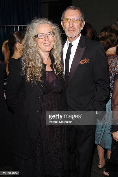 Kiki Smith and Arne Glimcher attend Whitney Museum of American Art hosts the 2005 WHITNEY GALA and After Party at Whitney Museum of American Art on...