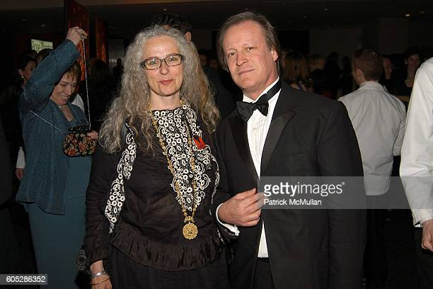 Kiki Smith and Patrick McMullan attend TIME Magazine's 100 Most Influential People 2006 at Jazz at Lincoln Center at Time Warner Center on May 8 2006...