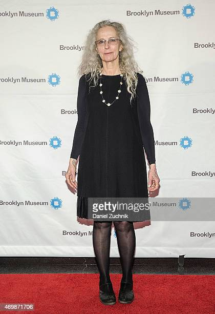Kiki Smith attends the 5th Annual Brooklyn Artists Ball at Brooklyn Museum on April 15 2015 in New York City