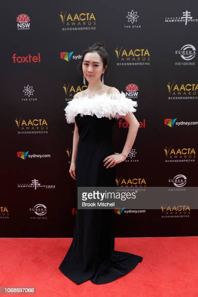 Kiki Sugino attends the 2018 AACTA Awards Presented by Foxtel at The Star on December 5 2018 in Sydney Australia