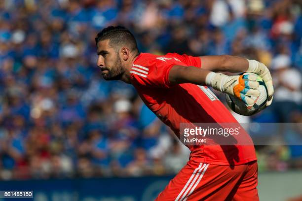 Kiko Casilla during the match between Getafe CF vs Real Madrid week 8 of La Liga 2017/18 in Coliseum Alfonso Perez Getafe Madrid 14th of october 2017