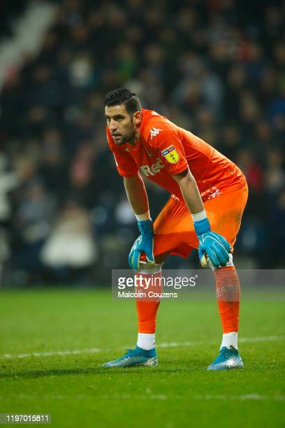 Kiko Casilla of Leeds United looks on during the Sky Bet Championship match between West Bromwich Albion and Leeds United at The Hawthorns on January...