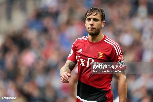 Kiko Femenia of Watford during the Premier League match between West Bromwich Albion and Watford at The Hawthorns on September 30 2017 in West...