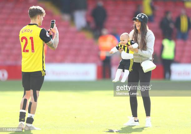 Kiko Femenia of Watford pictured after the Premier League match between Watford FC and West Ham United at Vicarage Road on May 12, 2019 in Watford,...