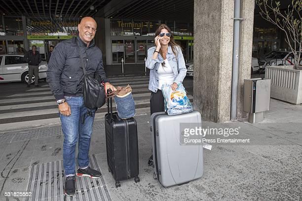 Kiko Matamoros and Makoke are seen on May 13 2016 in Madrid