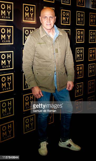 Kiko Matamoros attends Alejandra Rubio's birthday celebration on March 23 2019 in Madrid Spain