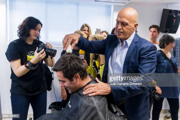 Kiko Matamoros attends 'Corto Por Ti' charity campaign presentation at MD Anderson Cancer Center Madrid on November 3 2017 in Madrid Spain