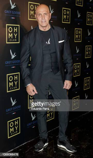 Kiko Matamoros attends the 'Oh My Club' opening party at Oh My Club on November 15 2018 in Madrid Spain