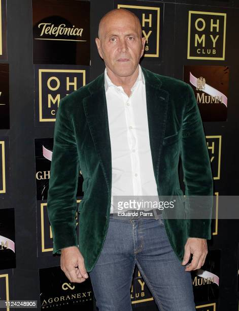 Kiko Matamoros attends the 'Travel Tourism Digital Awards' photocall at Oh My Club on January 23 2019 in Madrid Spain