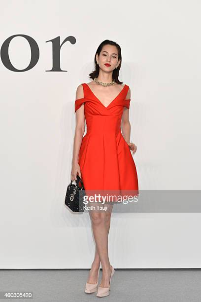 Kiko Mizuhara attends 'Esprit Dior' Tokyo 2015 Fashion Show at Ryogoku Kokugikan on December 11 2014 in Tokyo Japan