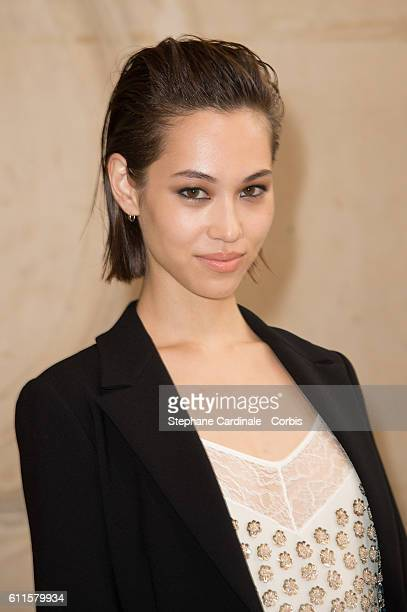 Kiko Mizuhara attends the Christian Dior show as part of the Paris Fashion Week Womenswear Spring/Summer 2017 on September 30 2016 in Paris France