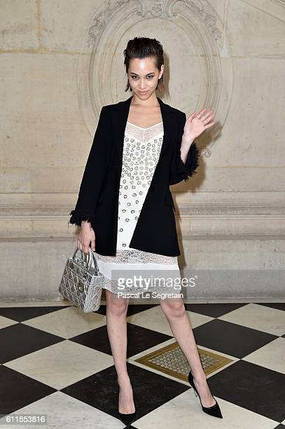 Kiko Mizuhara attends the Christian Dior show of the Paris Fashion Week Womenswear Spring/Summer 2017 on September 30 2016 in Paris France