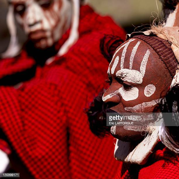 Kikuyu warrior in Kenya on July 08 2009 The Kikuyu are the country s largest ethnic group They live on the whole territory of Kenya However the...