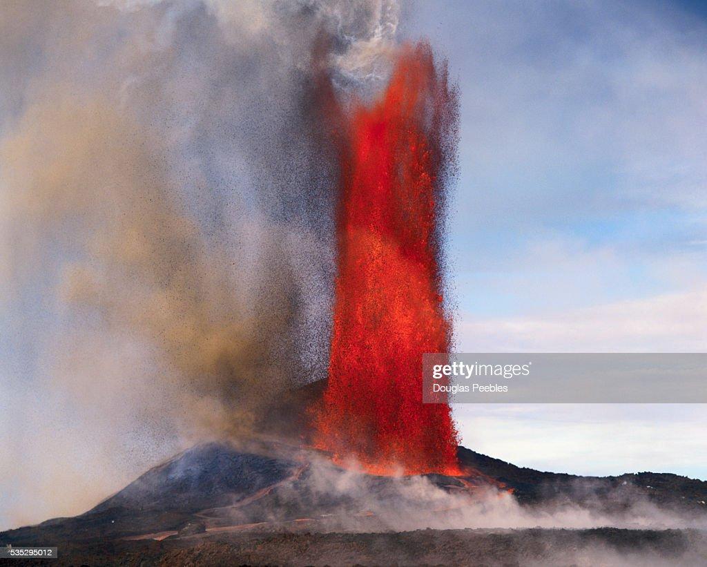 Kilauea Erupting : Stock Photo
