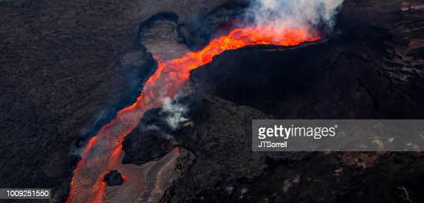 kilauea eruption - pele goddess stock pictures, royalty-free photos & images