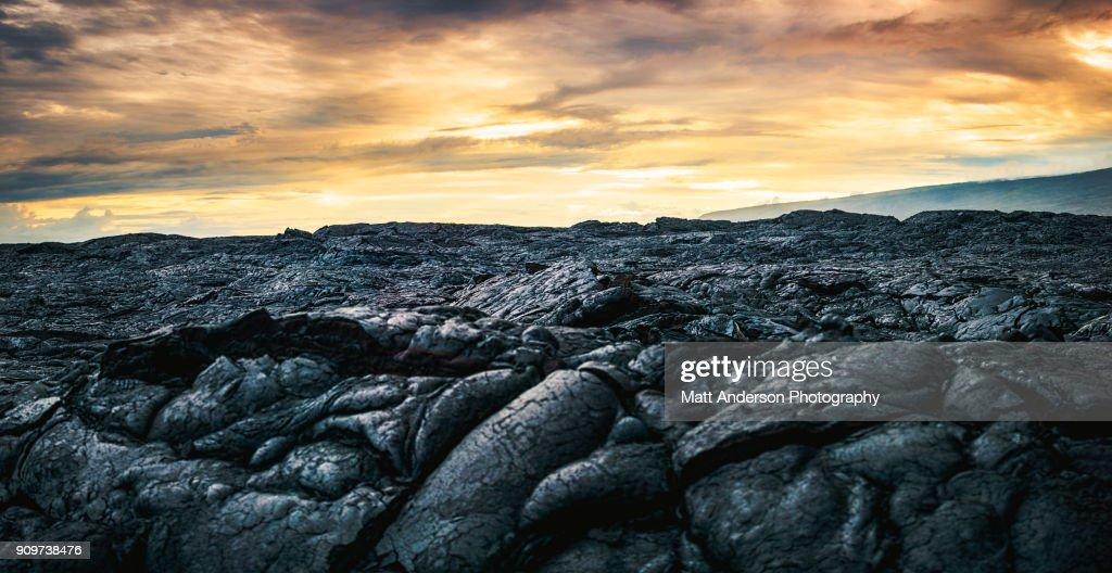 Kilauea Lava Flow #3 : ストックフォト