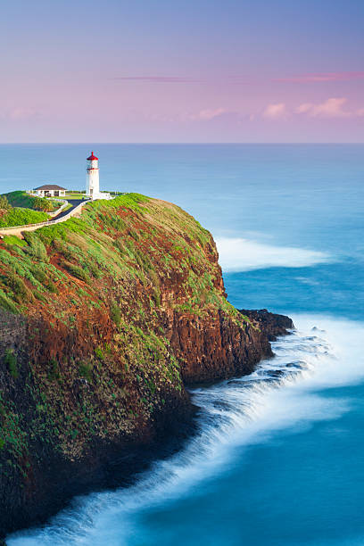 Kilauea Lighthouse at Dawn